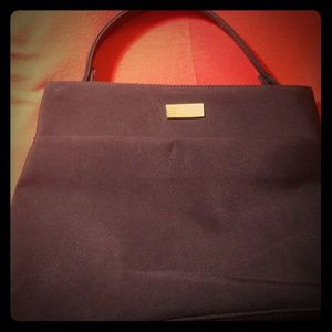 Esprit black canvas handbag